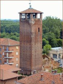 Carignano, Torre dei marchesi di Romagnano